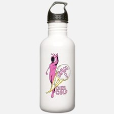 Girl Golf Water Bottle