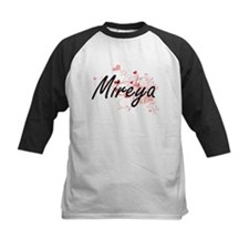 Mireya Artistic Name Design with H Baseball Jersey