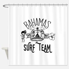 Bahamas Surf Team Shower Curtain