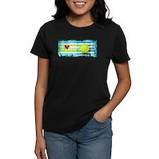 i love vintage tennis T-Shirt