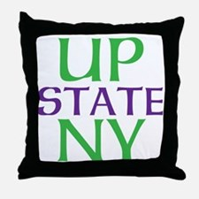 UPSTATE NY Throw Pillow
