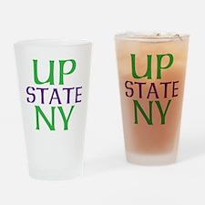 UPSTATE NY Drinking Glass