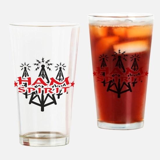 HAM SPIRIT LOGO Drinking Glass