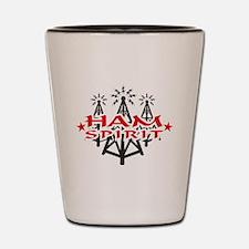 HAM SPIRIT LOGO Shot Glass