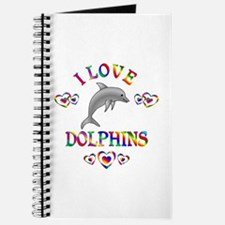 I Love Dolphins Journal