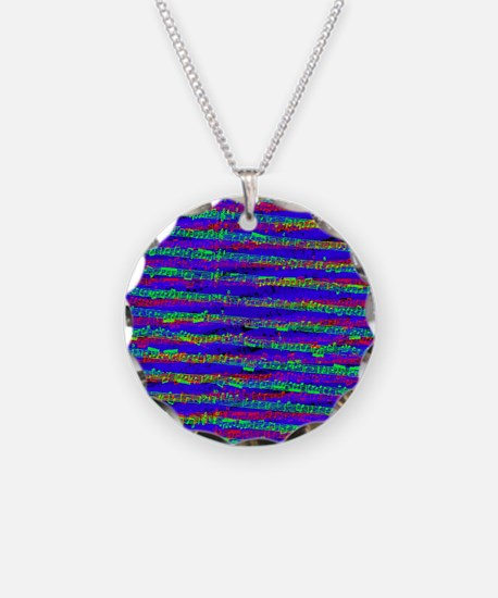 The colors of music Necklace