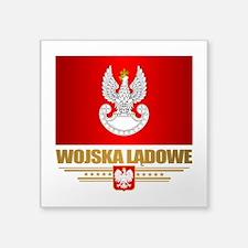 Polish Land Forces Sticker
