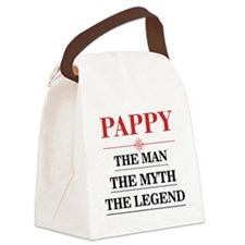 Pappy – The Man The Myth The Legend Canvas Lunch B