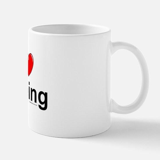 Peeing Mug