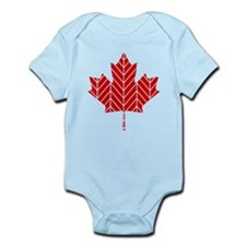 Chevron Maple Leaf Body Suit