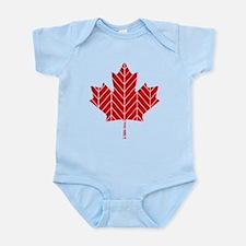 Chevron Maple Leaf Body Suit