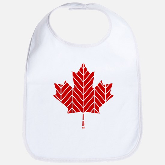 Chevron Maple Leaf Bib
