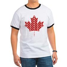 Chevron Maple Leaf T-Shirt