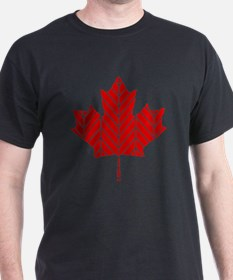 Chevron Maple Leaf T-Shirt