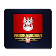 Polish Land Forces Mousepad