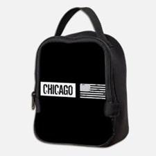 U.S. Flag: Chicago Neoprene Lunch Bag