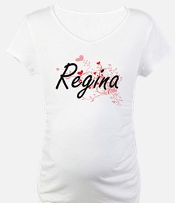 Regina Artistic Name Design with Shirt