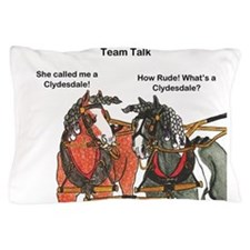 Team Talk 1 Pillow Case