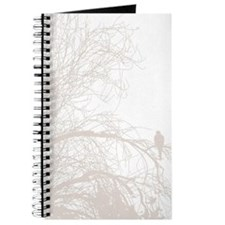 Funny White dove Journal