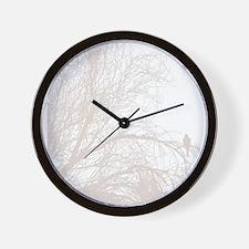 Unique White dove Wall Clock