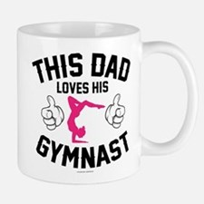 This Dad Loves His Gymnast Mugs