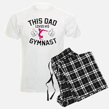 This Dad Loves His Gymnast Pajamas