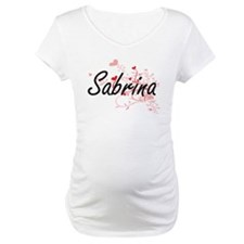 Sabrina Artistic Name Design wit Shirt