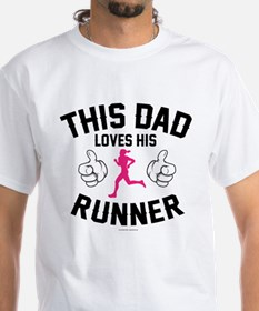 This Dad Loves His Runner T-Shirt
