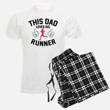 This Dad Loves His Runner Pajamas