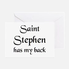 saint stephen Greeting Card