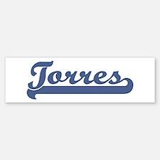 Torres (sport-blue) Bumper Bumper Bumper Sticker