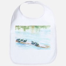 Turtle Family Bib