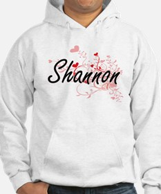 Shannon Artistic Name Design wit Hoodie