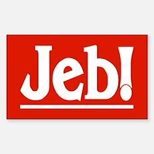 JEB! Rectangle Decal