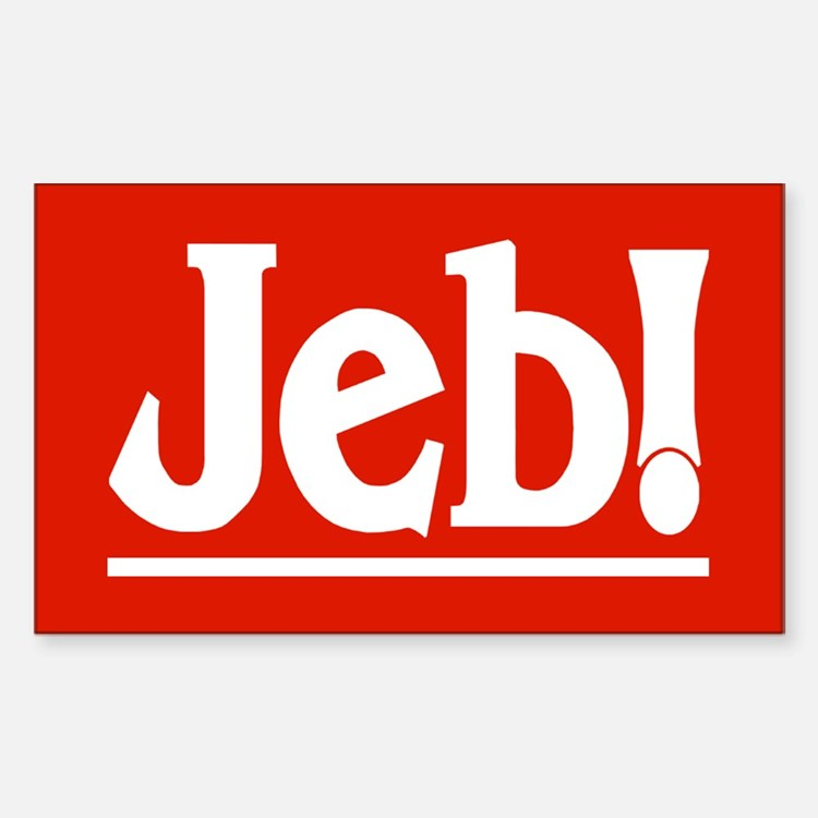 JEB! Rectangle Decal