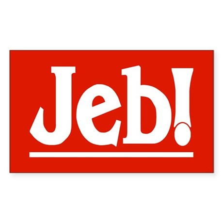 JEB! Rectangle Sticker