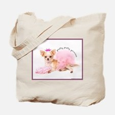 Princess Teacup Chihuahua Tote Bag