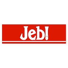 JEB! Bumper Bumper Sticker