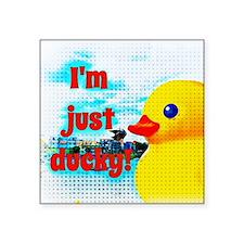 Just Ducky Sticker