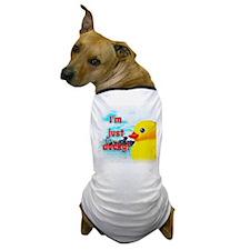 Just Ducky Dog T-Shirt