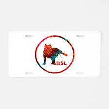 BSL Aluminum License Plate