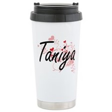 Taniya Artistic Name De Travel Mug