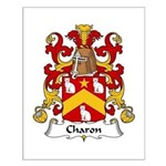 Charon Family Crest Small Poster