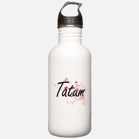 Tatum Artistic Name De Water Bottle
