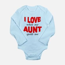 I Love When My Aunt Spoils Me Body Suit