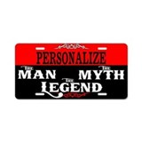 Personalize License Plates