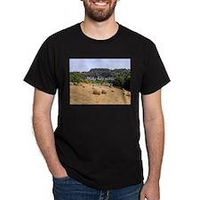 Make hay while the sun shines hay bales, S T-Shirt