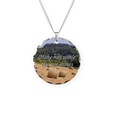 Make hay while the sun shine Necklace