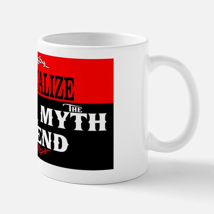 Custom Man Myth Legend Mug Mugs