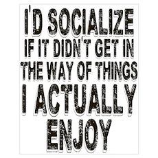 Antisocial Humor Poster